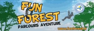 concours, Fun Forest, parcours aventure, tyrolienne