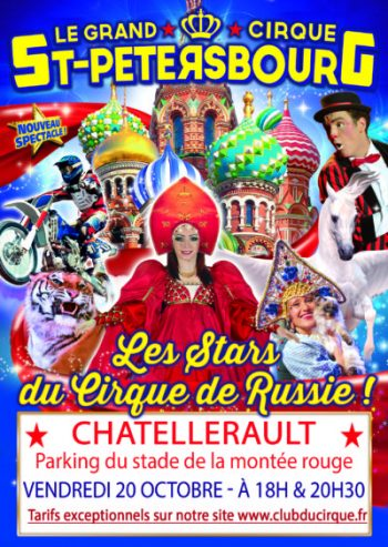 gagnez des places de cirque, Poitiers, Châtellerault