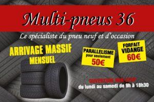 Montage et Equilibrage, pneus neufs, occasions, Châteauroux