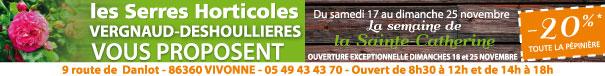 végétaux, plantation, Sainte-Catherine, Vivonne , Poitiers