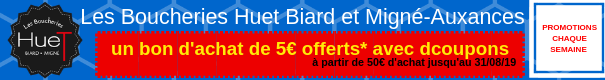 promotion, boucherie Poitiers, Migné-Auxances, Biard