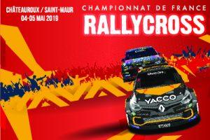 RALLYCROSS championnat de France Châteauroux Saint Maur