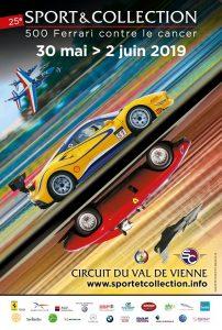 500 Ferrari contre le cancer édition 2019 25ème anniversaire