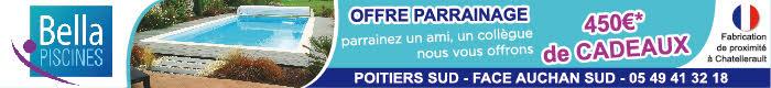 spécialiste piscines coque polyester Poitiers